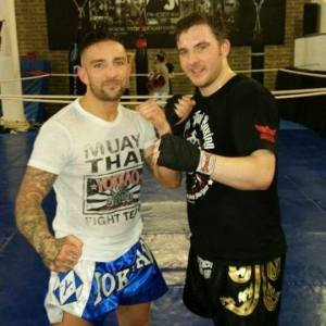 Me and Liam Harrison at a seminar he did a little while ago.