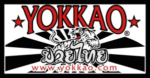 The well known 'YOKKAO' logo