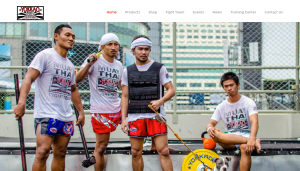 A shot of the new YOKKAO site