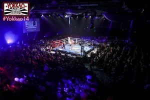 The Bolton Macron arena for YOKKAO 14
